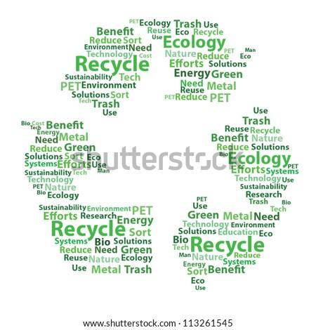 Recycle design vector concept - stock vector