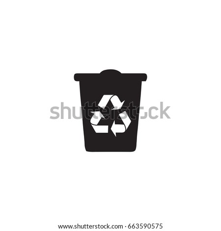 recycle icon. sign design