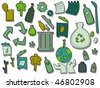 Recycle Icons - Vector - stock vector