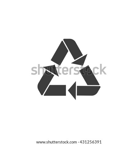 Recycle. Recycle Icon. Recycle Icon Vector. Recycle Icon Art. Recycle Icon eps. Recycle Icon Image. Recycle Icon logo. Recycle Icon Sign. Recycle Icon Flat. Recycle icon app. Recycle icon UI. - stock vector