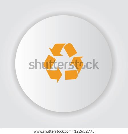 Recycle symbol,Vector - stock vector