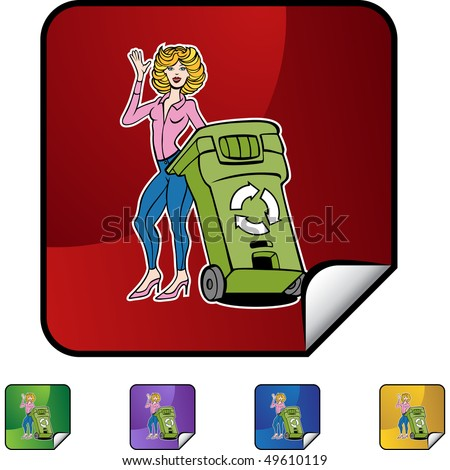 Recycling Woman