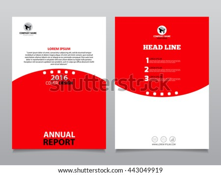 Vector Design Red Flyer Whit Black Stock Vector 233952052