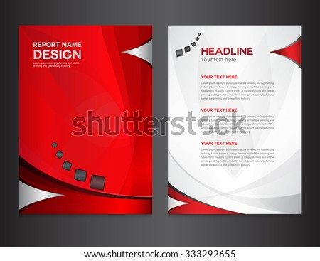 Company profile stock images royalty free images for Instruction leaflet template