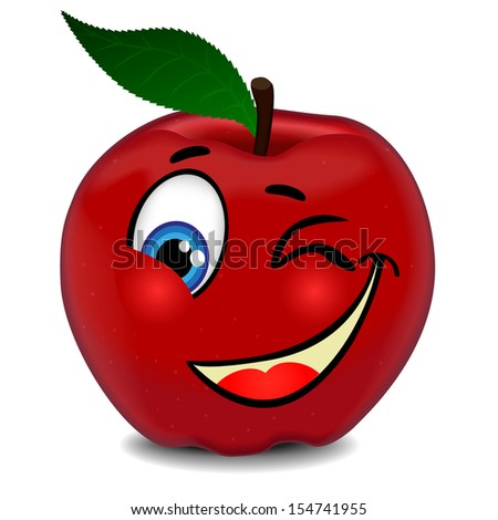 Cartoon Apple Stock Photos Images amp Pictures Shutterstock