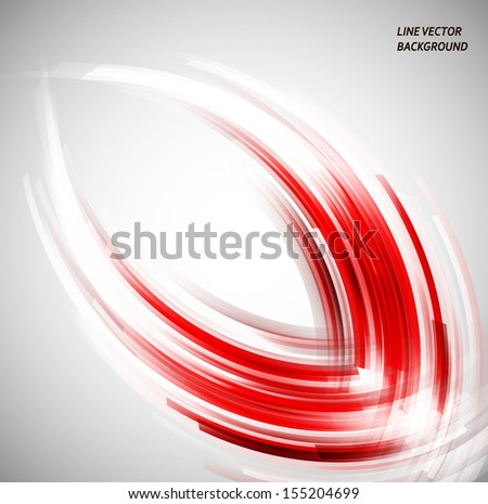 red art light. Vector background. EPS10 - stock vector