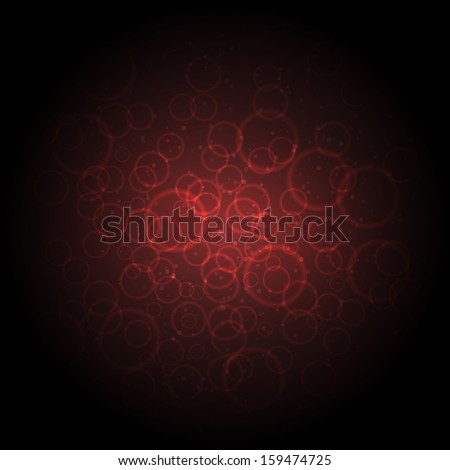 Red blood cells - stock vector