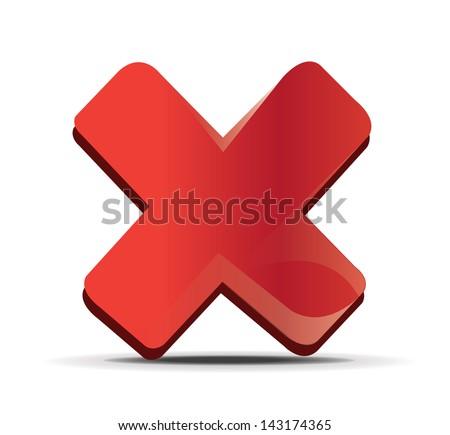 Red Cross - stock vector