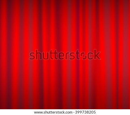 red curtain background vector illustrations