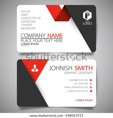 Name Card Design Stock Images RoyaltyFree Images  Vectors