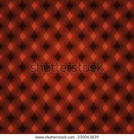 red geometric pattern. abstract background. Vector illustration - stock vector