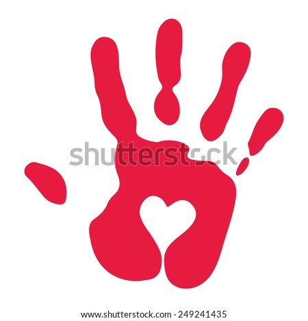 Hand Print Stock Images Royalty Free Images Amp Vectors