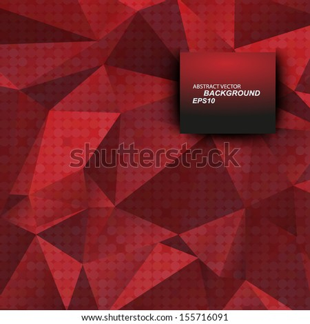 red line background. Vector background. EPS10 - stock vector