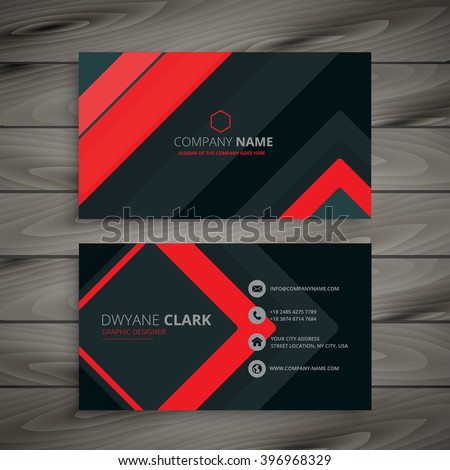 Visiting Card Design Stock Images, Royalty-Free Images & Vectors ...
