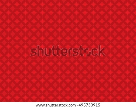 Red Modern Wall Paper . Abstract Background .Vector Design