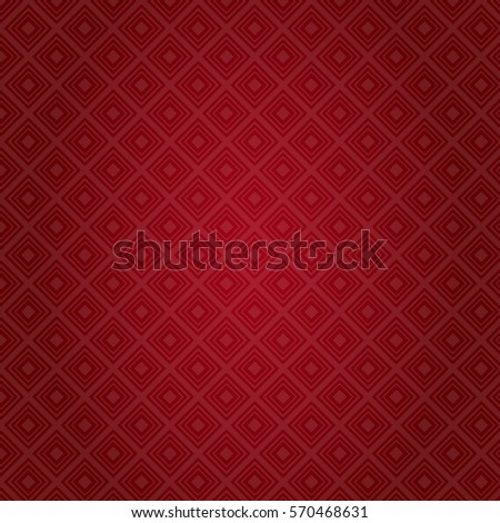 Red Pattern Abstract Background Valentine Day Gift Card Holiday Flat Vector Illustration