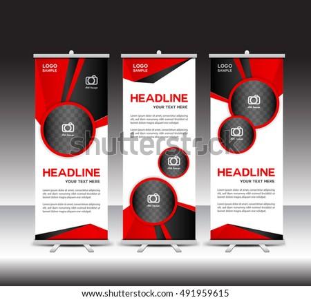 pull up banner design stock images royalty free images vectors shutterstock. Black Bedroom Furniture Sets. Home Design Ideas