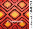 red snakeskin background - stock