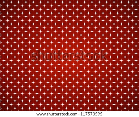 red stars background. christmas concept. - stock vector
