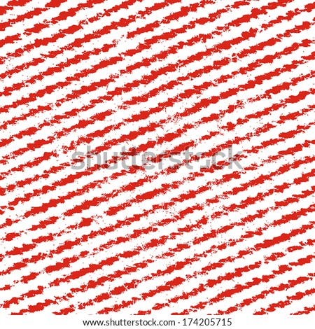 Red Striped Texture for your design.  - stock vector