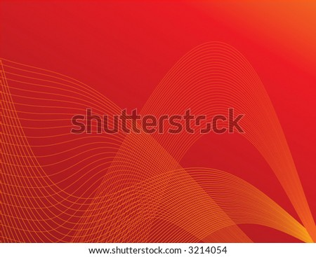 Red trendy vector background. Can be used for many things - including ads and websites. - stock vector