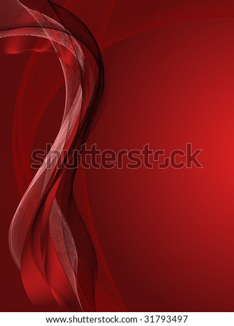 Red vector Background with abstract lines and pattern