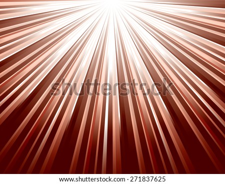 Red Vector Rays. Abstract Modern Background. - stock vector