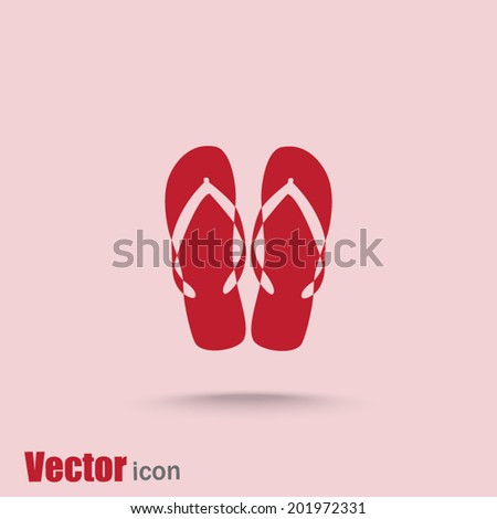 red web icon on a pink background - stock vector