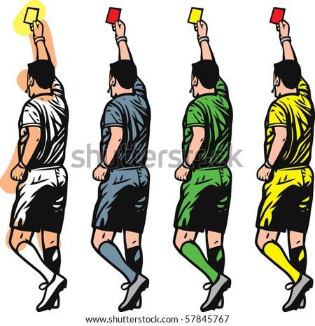 Referee - stock vector