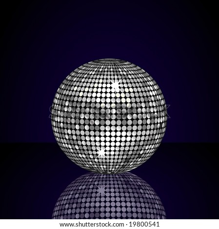 silver disco ball background - photo #17