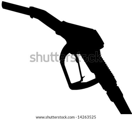 refueling hose in vector design - stock vector