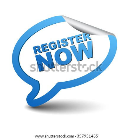 register now, blue vector register now, blue bubble register now, sticker bubble register now, element register now, sign register now, design register now, picture register now, register now eps10 - stock vector