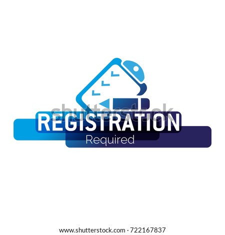 stock-vector-registration-required-form-