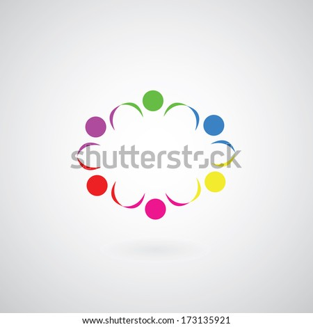 relationship symbol  on gray background  - stock vector