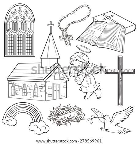 Religion - stock vector
