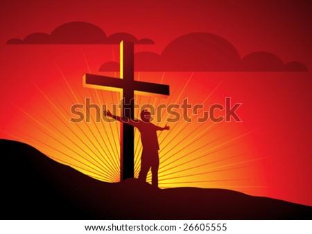 religious freedom - stock vector