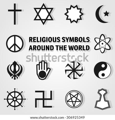 Major Religious Symbols Of The World