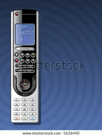 Remote Control - stock vector