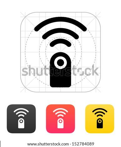 Remote control icon. Vector illustration. - stock vector