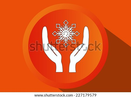 repair of air conditioning climate control - stock vector
