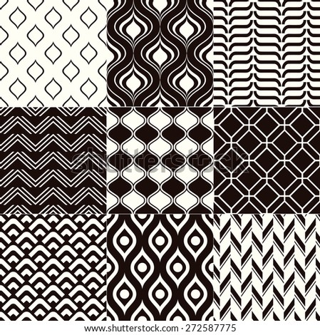 repeated monochrome geometric textured background