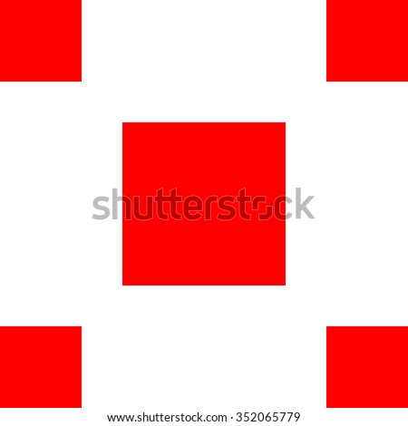 repeating seamless simple tile pattern - vector