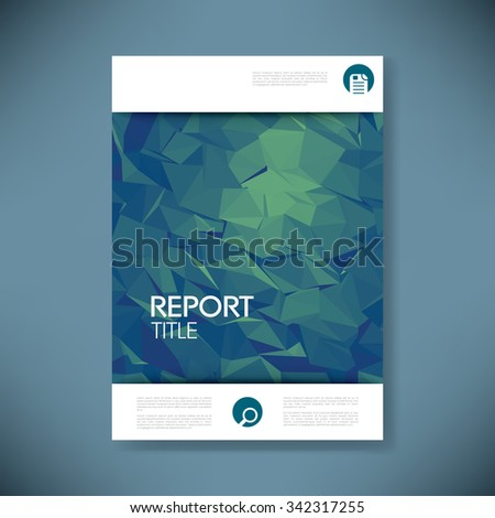 Title Page Images RoyaltyFree Images Vectors – Report Cover Page Template
