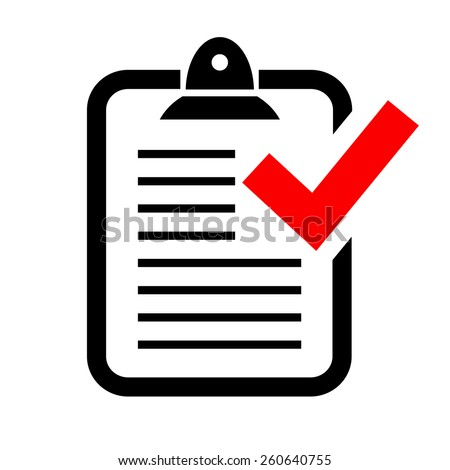 Report icon - stock vector