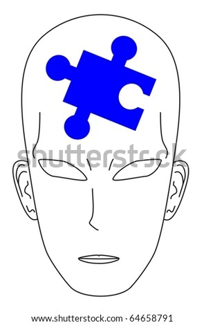 Representing the concerns of human - stock vector