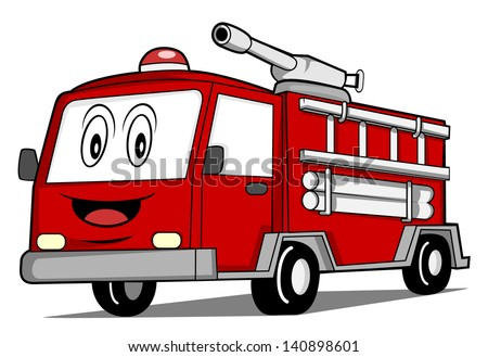 Fire Engine Cartoon Stock Images, Royalty-Free Images ...