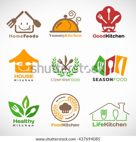 Logo stock images royalty free images vectors for Kitchen decoration logo