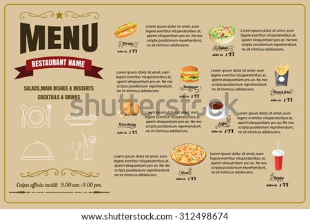menu format seatle davidjoel co