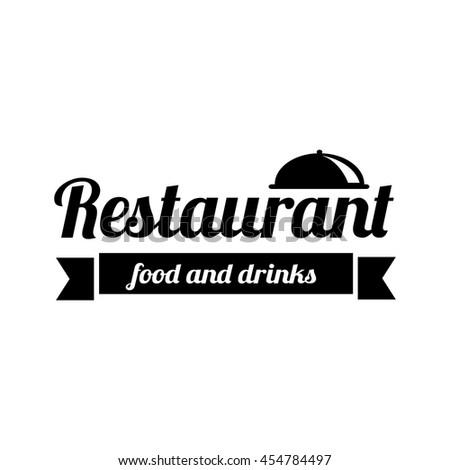 restaurant logo food service vector logo stock vector royalty free
