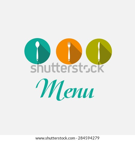 Restaurant Menu Background  Template Vector Illustration EPS10  - stock vector